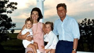 JFK Jacqueline, John, Caroline